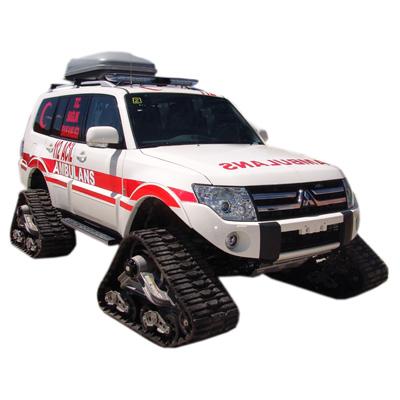 EMS Mobil Sistemler ve  Wheeld Snowtrack Ambulance
