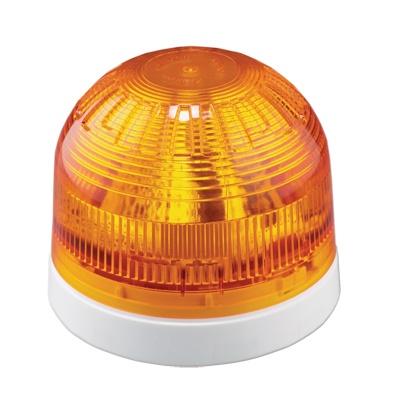 UTC Fire & Security FA350WY LED Visual Indicator, White Shallow Base, Yellow Lens