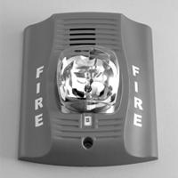 Fire Lite Alarms (Honeywell) P4W 4-wire white wall horn/strobe