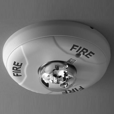 Fire Lite Alarms (Honeywell) SCWH ceiling strobe