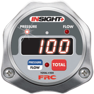 Fire Research Corp. FPA500-025 pressure and flow indicator