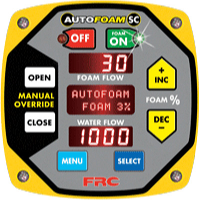 Fire Research Corp. FSB030-050 automatic foam proportioning system