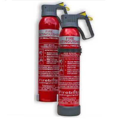Fireblitz Extinguisher Ltd Alpha 600 BC dry powder