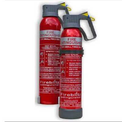 Fireblitz Extinguisher Ltd Beta 950 0.95kg BC dry powder