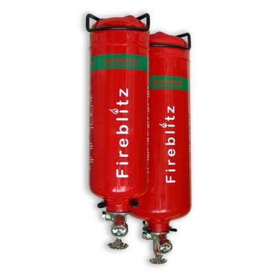 Fireblitz Extinguisher Ltd FBA-G1 1kg clean agent gas