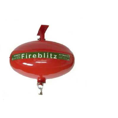 Fireblitz Extinguisher Ltd FBA-G6 6kg clean agent gas