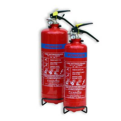 Fireblitz Extinguisher Ltd FBP1 1kg ABC dry powder