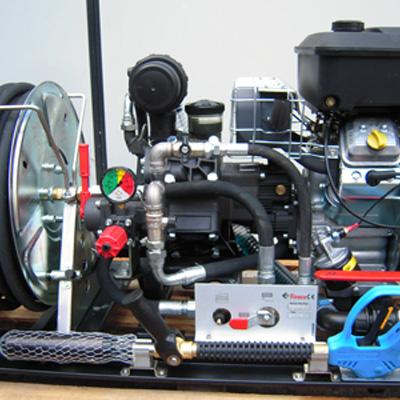 Fireco Ltd MOTOR PUMP GROUP high pressure motor pumps