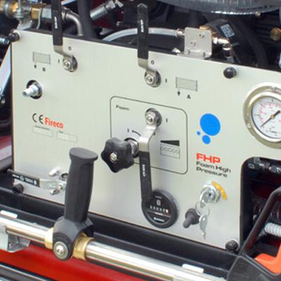 Fireco Ltd Patened Foam Mixing System