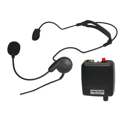 Firecom LW-20 lightweight single ear headset