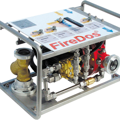 FireDos GmbH mobile positive pressure foam systems