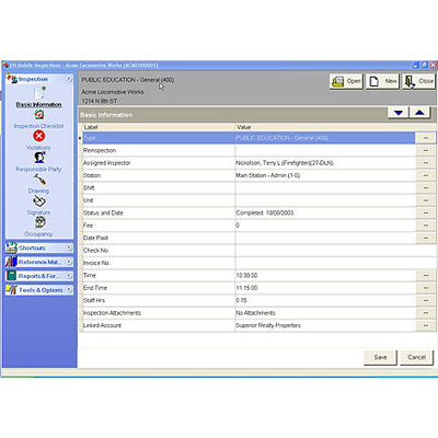 Firehouse Software FH Mobile Inspections & Occupancies