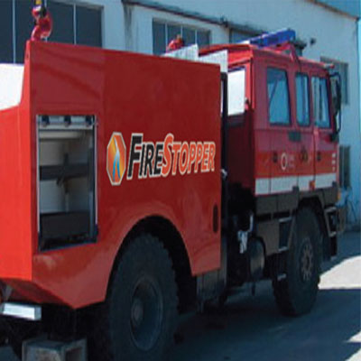 FireStopper International 4x4 Striker firefighting vehicle
