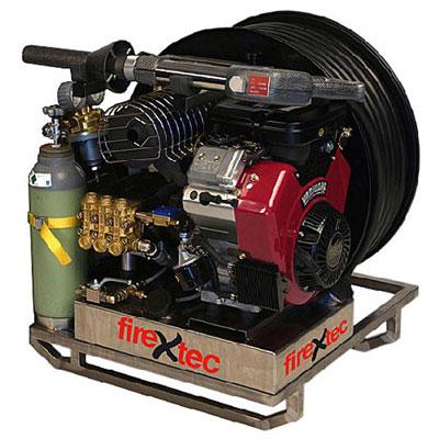FireStopper International FK250-4/SD high pressure fire extinguishing device