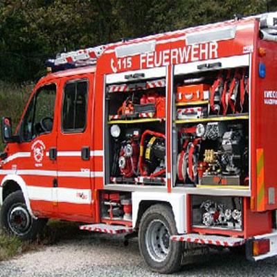FireStopper International FK250-4/SF fire fighting system