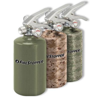 FireStopper International FSM-100 an all purpose disposable fire extinguisher