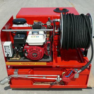 Firexpress 500L tank with pump driven unit