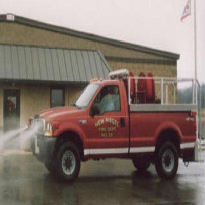 Firovac Grass Units firefighting vehicle