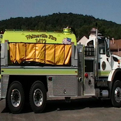 Firovac Raven QP firefighting vehicle