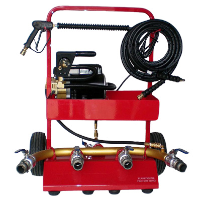 FlameFighter Corporation HT100 hose tester with pressure washer