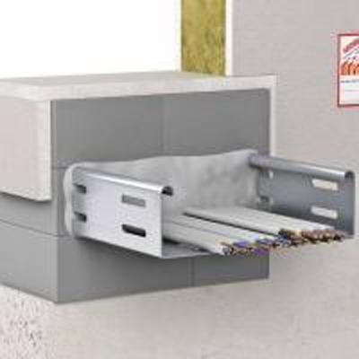 Flamro S 30/60 panel seal for wall/floor penetrations