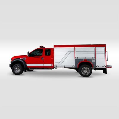 Fouts Bros. Fire Equipment 11 Foot Mini pumper