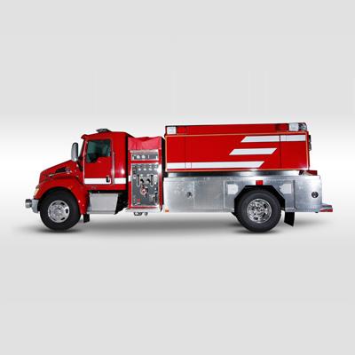 Fouts Bros. Fire Equipment 2000 Gallon Super tanker
