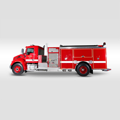 Fouts Bros. Fire Equipment Top Mounted pumper