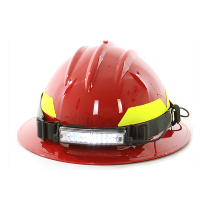 FoxFury Command 20 Fire Tilt firefighter helmet light with adjustable tilt