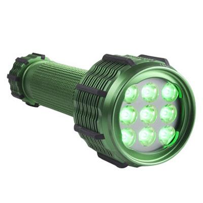 FoxFury MF Series Green FLS LED flashlight