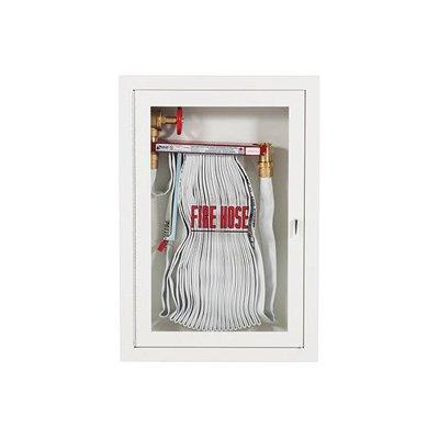 """Potter Roemer FRC1024 Fire Rated 1.5"""" Fire Hose Rack Cabinet (Semi-Recessed Wall Mounting)"""