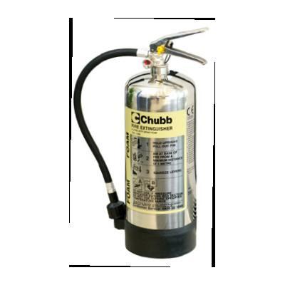 Chubb FX SS6F stainless steel foam fire extinguishers