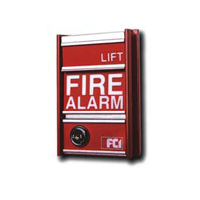 Gamewell-FCI 1100-0615 fire alarm station