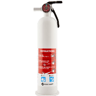 First Alert GARAGE10 rechargeable fire extinguisher