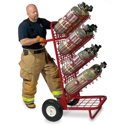 GEARGRID SCBA Mobile Bottle Cart