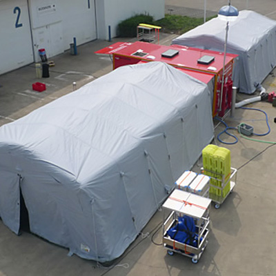 Gemco Mobile Systems Decontamination 50PPH unit