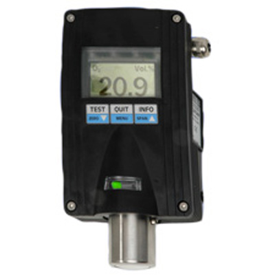 GfG EC28 D with additional display of gas concentration