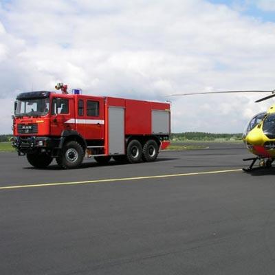Gimaex FLF 50/40 firefighting vehicle