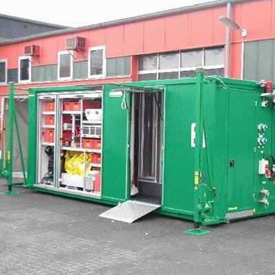 Gimaex Ro/Ro-Container Decon