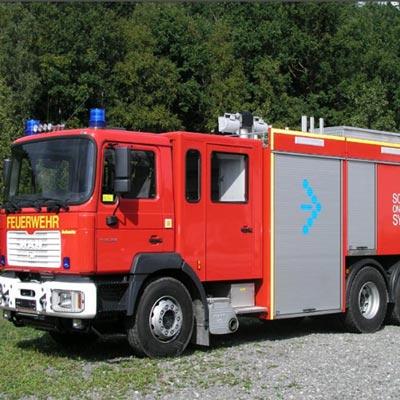 Gimaex Tro SLF 60/40-15+500P fire fighting vehicle