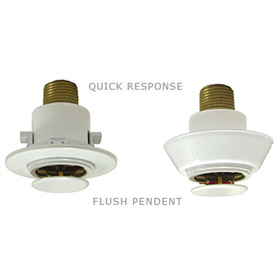 Globe Fire Sprinklers A-28 quick response automatic flush pendent