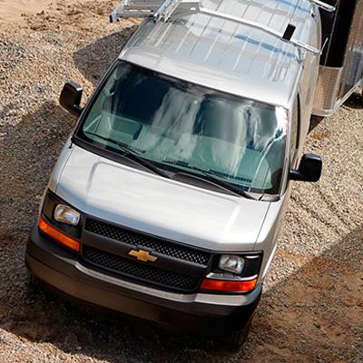 GM Fleet & Commercial Chevrolet Express 3500 Cargo Van