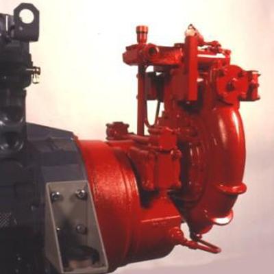 Godiva GXA4010DD World Series pump with integtral gearbox