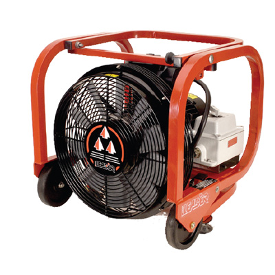 Groupe Leader ESX 230 single-phase electric blower fan