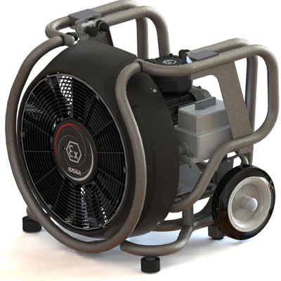Groupe Leader ESX 230 three-phase electric blower fan
