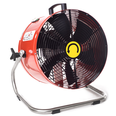Groupe Leader SR 460 electric relay auxiliary fan