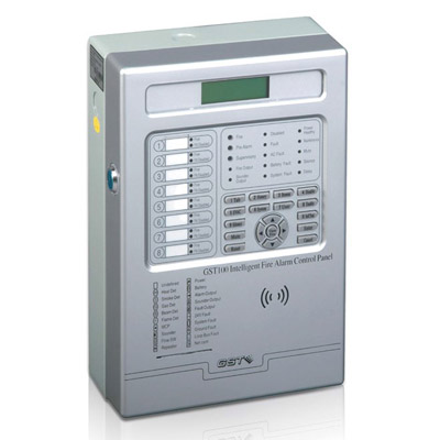 GST GST100 fire alarm control panel