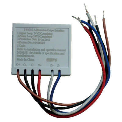 GST I-9301S output interface