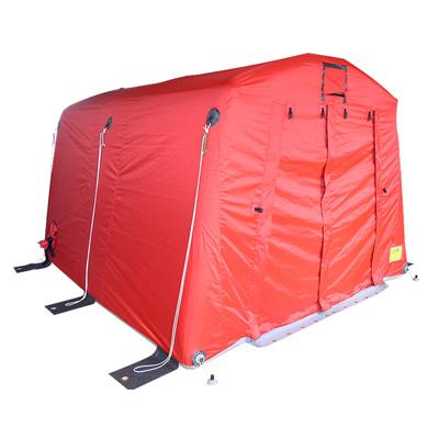 Gumotex GTX-10 inflatable rescue tents