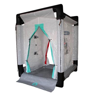 Gumotex GTX-S04 inflatable decontamination shower